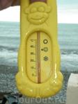 Температура воды в море 27 мая в шторм