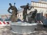 Скульптура в порту San Basilio