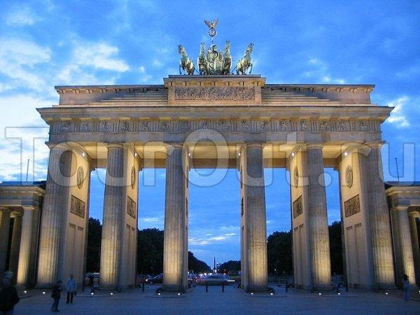 Берлин. Брандербургские ворота.