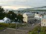 Вид со смотровой площадки у церкви на весь город и порт.