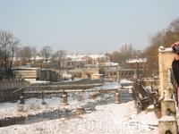 Ивангород, старый промышленный район
