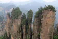 Хуаншичжай - самая высокогорная часть Улинъюаня, достигающая высоты 1050 м.