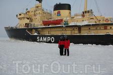 Ледокол Сампо оставил самые яркие впечатления