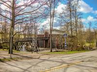 Зернохранилище было построено из шлакового кирпича в 1902 году по эскизам Вальдемара Аспелина (Waldemar Aspelin) в стиле неоренессанс.