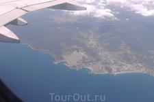 Цель близка, пролетаем над Коста Брава.