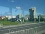 Новый Львов из окна автобуса :  едем на экскурсию в замки.