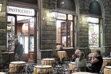"""Знаменитое кафе """"RIVOIRE"""" на площади Сеньории."""