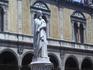 Памятник Данте на площади Синьории