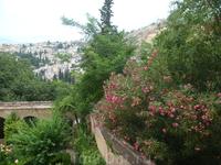 В Саду Альгамбры