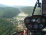 Над озером Абрау на частном вертолёте