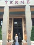 Вход в лечебный центр отеля Grand Hotel CastroCarо Terme & Spa