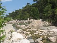 Горная речка рядом с городом