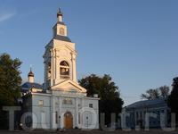 далее попадаем на площадь, где стоит православный Спасо-Преображенский собор и...