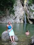 Агурские водопады.