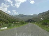 12 августа 2009. трасса Егегнадзор - Нораванк.
