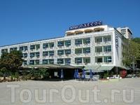 """Одна из первых гостиниц Варны - """"Одесос""""."""