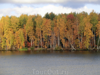 Осень на Волге.