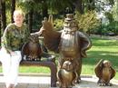 Памятник многодетным отцам в Сочи