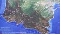 Примерная карта Лигурийского побережья=)))