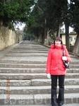 Подъем на площадь Микеланджело