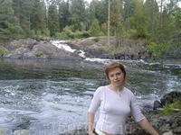 """Это Рускеальский водопад, примерно в 70-х здесь снимался фильм """"А зори здесь тихие"""".... от каньона 5 минут езды"""