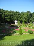 Парковые виды. Дворцовый парк Петродворца.