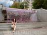 водопадик в скверике Лав-Парк