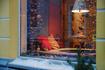 Окно индийского ресторанчика