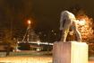 Памятник Парню - восстановителям Рованиеми после Второй мировой войны
