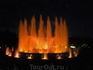 Поющие фонтаны в Барселоне.
