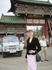 это я, еще молодая и рыжая, собираюсь войти в буддистский монастырь...