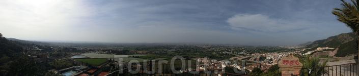 Панорамный вид Мурсии.