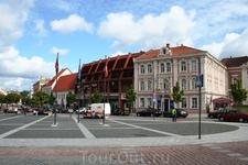 Площадь в Старом городе.