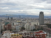 вид Барселоны с горы Монтжуик 3