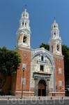 Посещение Пуэблы. Безумно красивый город!    Церковь Девы Марии.