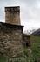Сванетия. Село Ушгули. Церковь Ламария  (или церковь Успения Святой Богородицы)