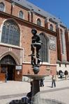 памятник бедному студенту Жаку (Краков)
