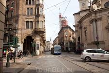 Одна из площалей Турина