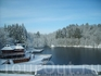 Lacul Ursu в снегу