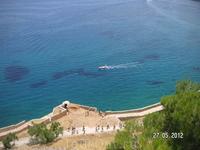 Крепость. Наверху. Вид на залив Мирабелло