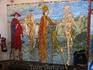 """фреска """"Пляска смерти"""" в Мариенкирхе, Берлин"""
