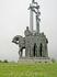 Памятник дружинам Александра Невского на г. Соколиха.