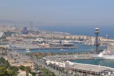 Барселона. Вид на порт