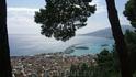 вид на город Закинтос с высоты венецианской крепости