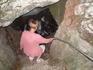 Спуск в Скельскую пещеру