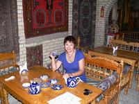 Бухара В чайном домике