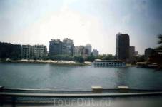 Панорама египетской столицы с видом на Нил