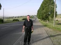 14 августа 2009. трасса Ереван - Севан.