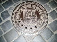 Канализационный люк в Праге