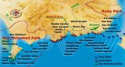 Карта отелей Шарм эль Шейха